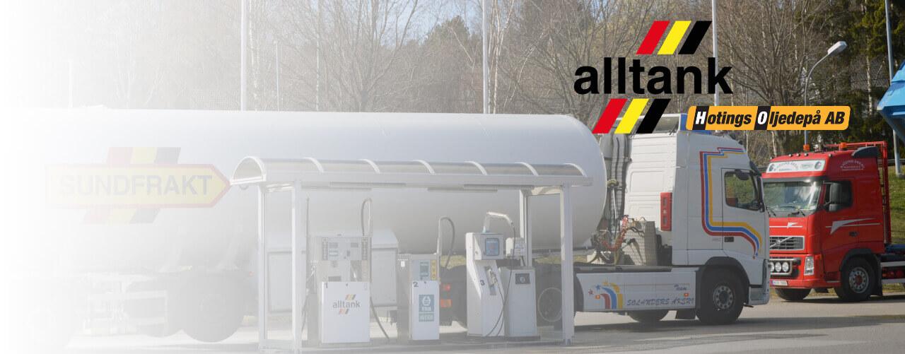 Pressmeddelande från Alltank AB och Hotings Oljedepå AB